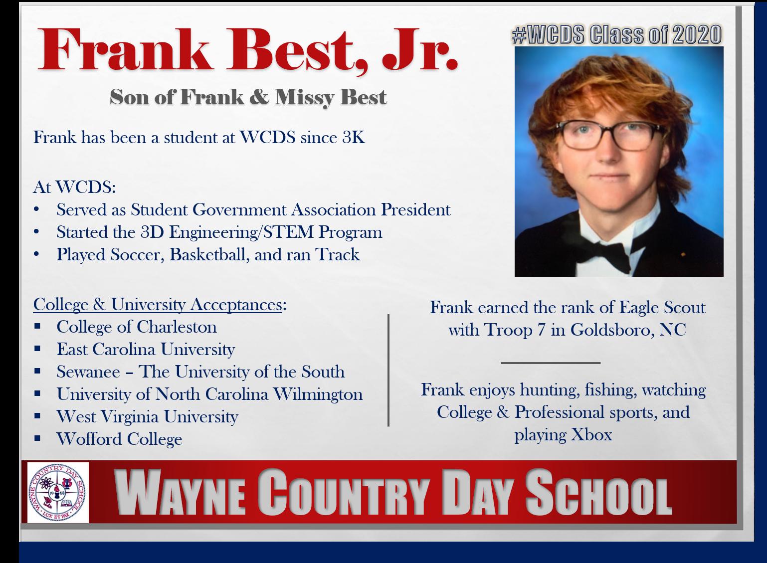 Frank Best Profile