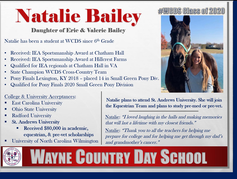 Natalie Bailey Profile
