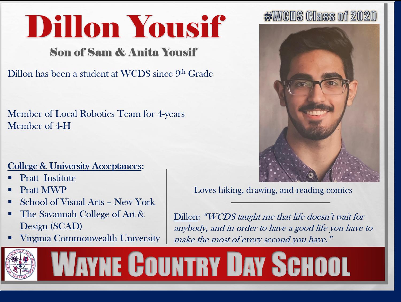 Dillon Yousif Profile