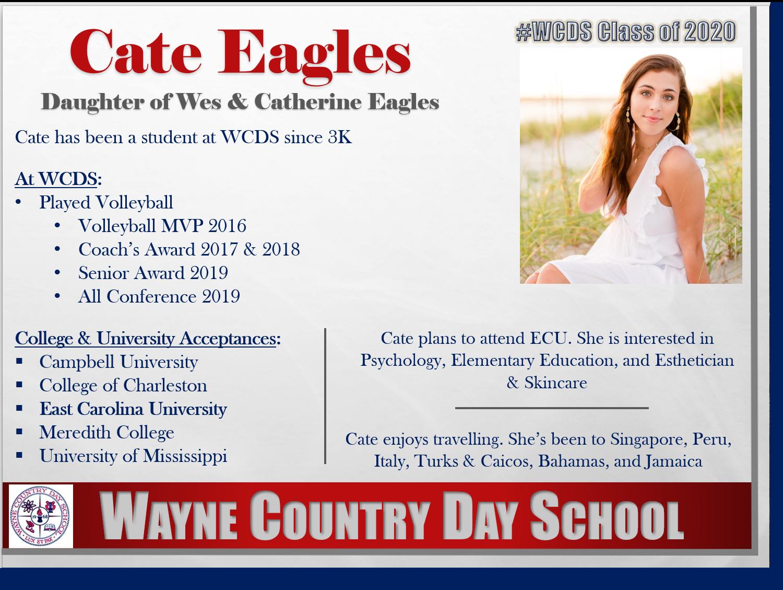 Cate Eagles Profile