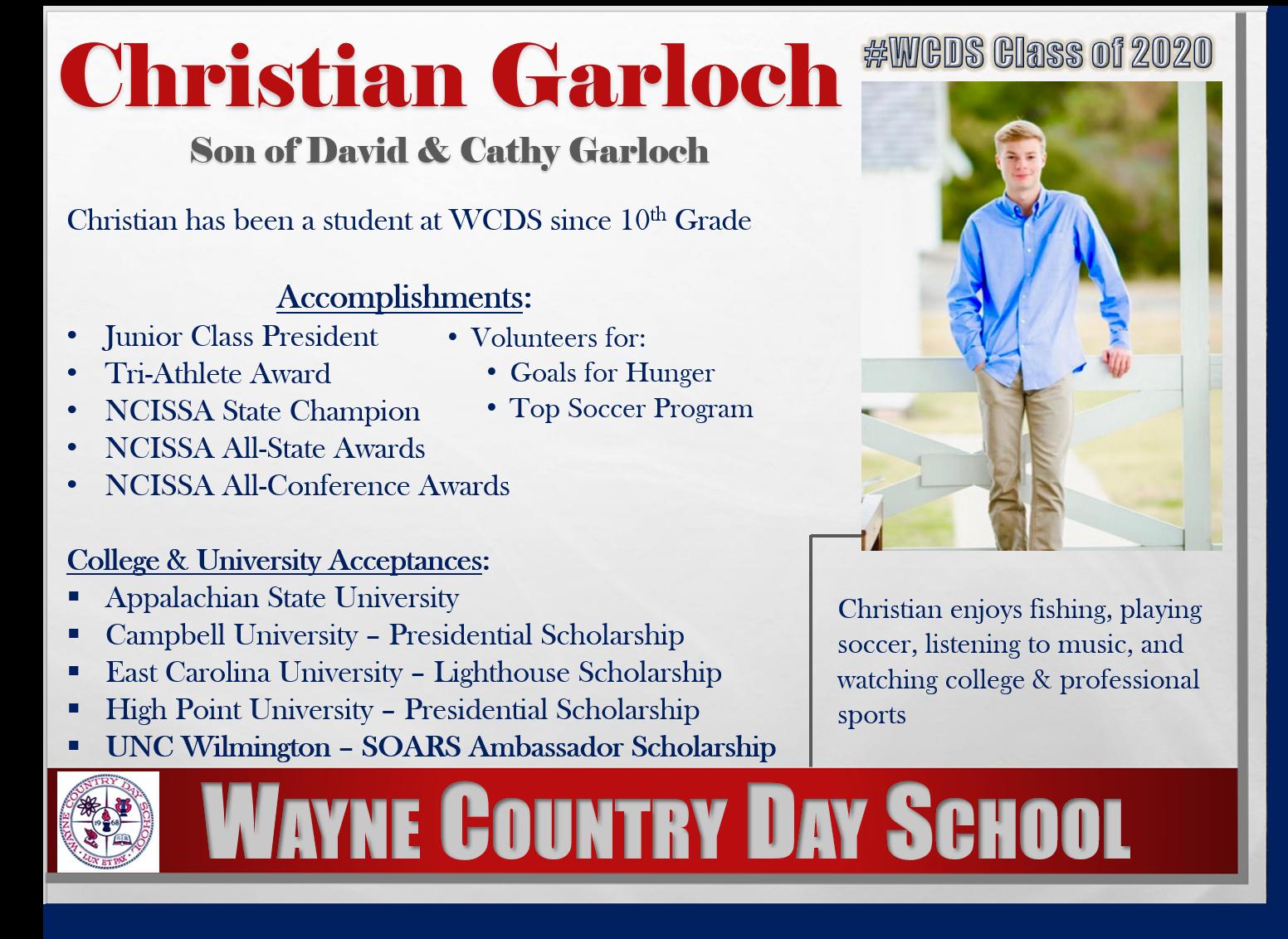Christian Garloch Profile
