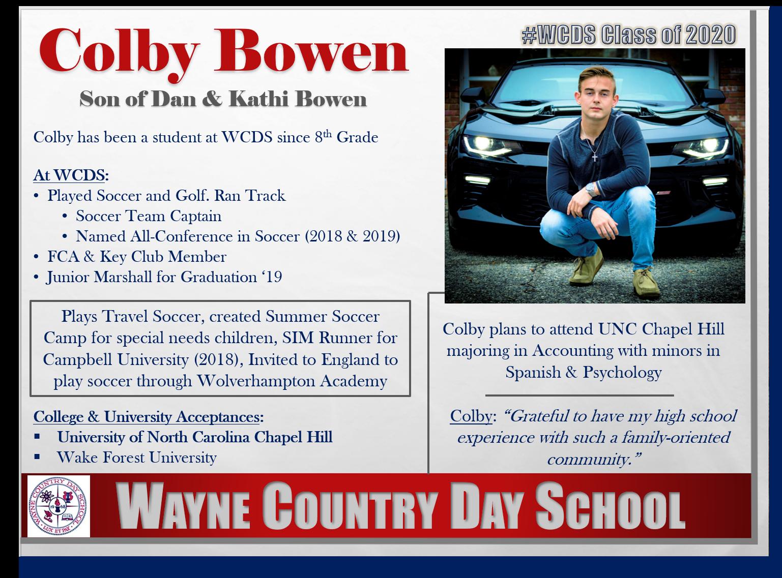 Colby Bowen Profile