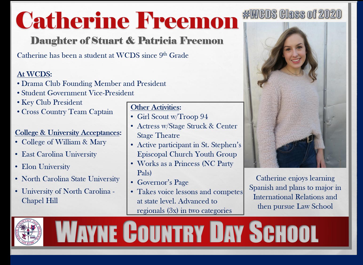 Catherine Freemon Profile