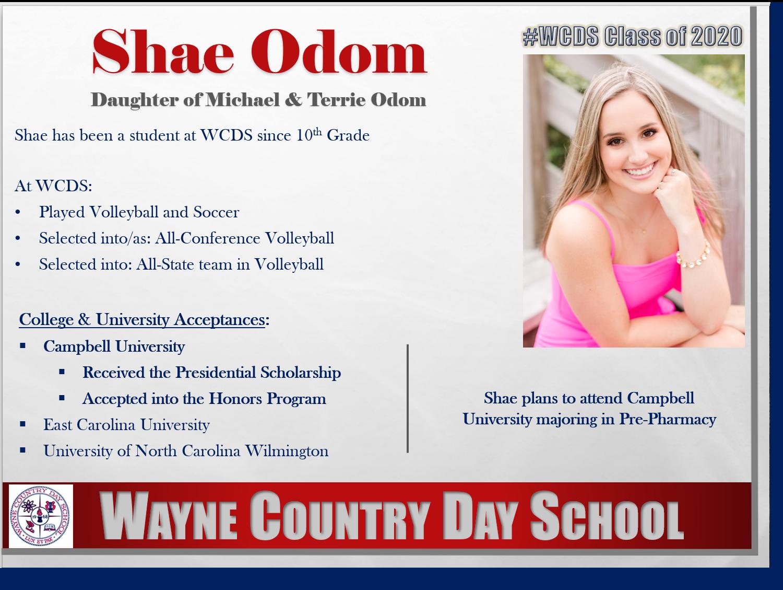 Shae Odom Profile