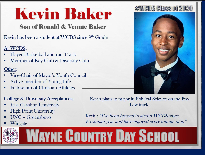 Kevin Baker Profile