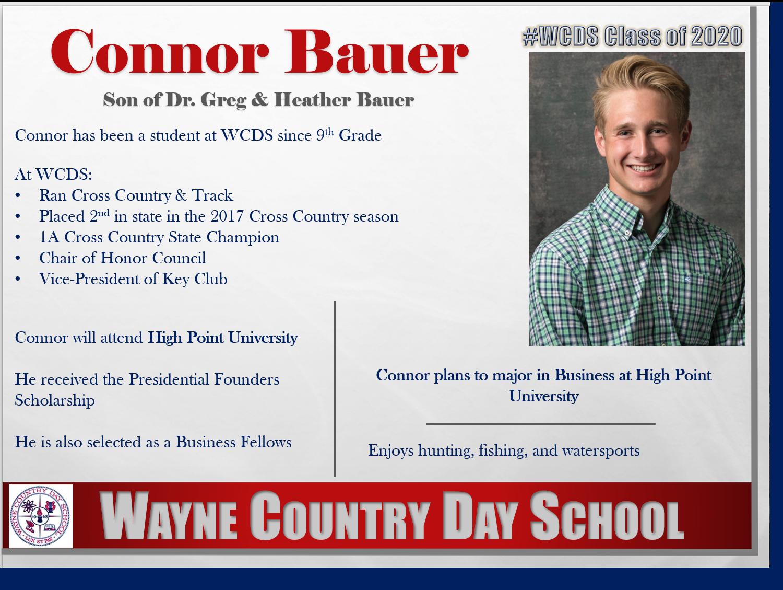 Connor Bauer Profile