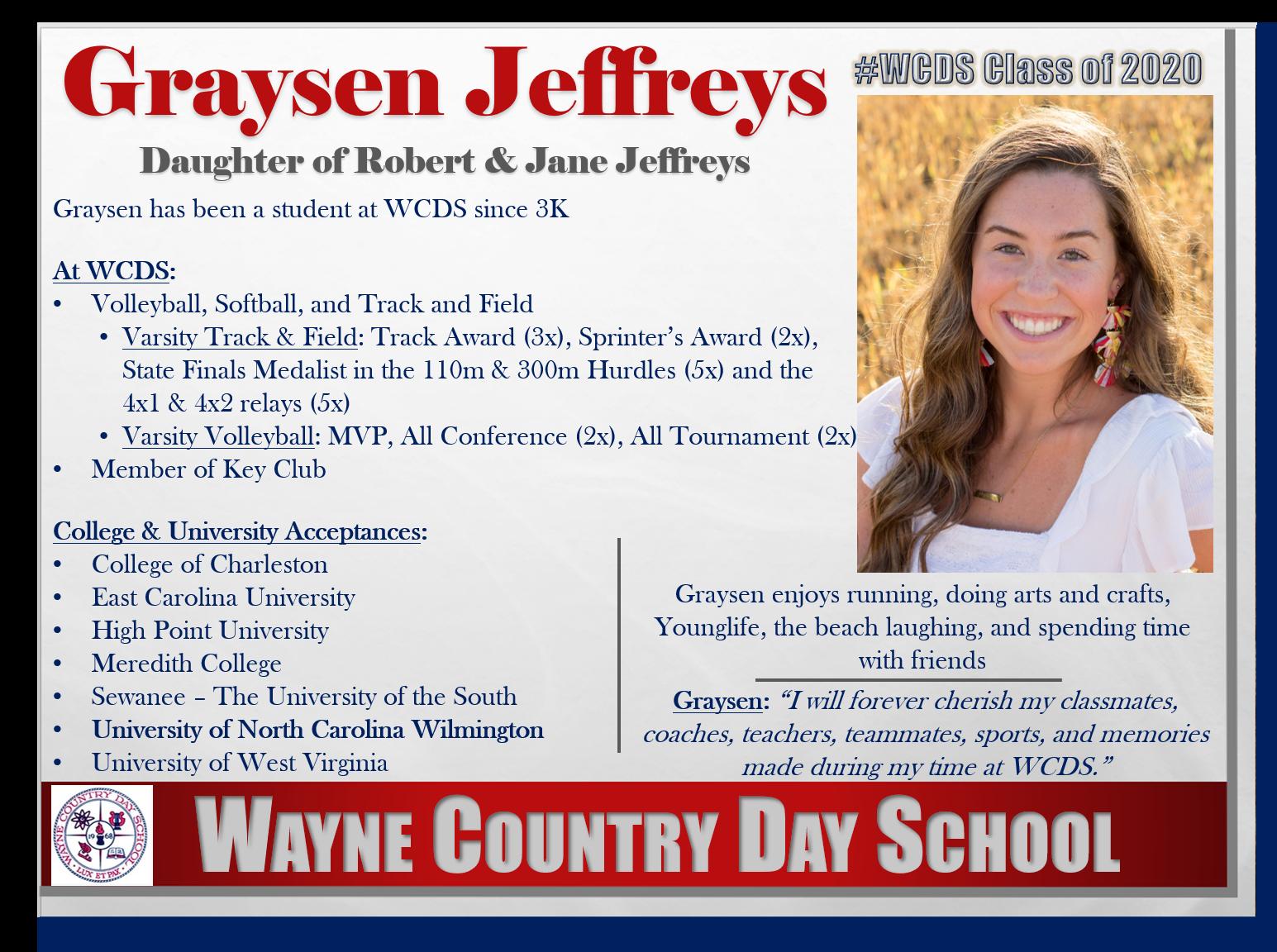 Graysen Jeffreys