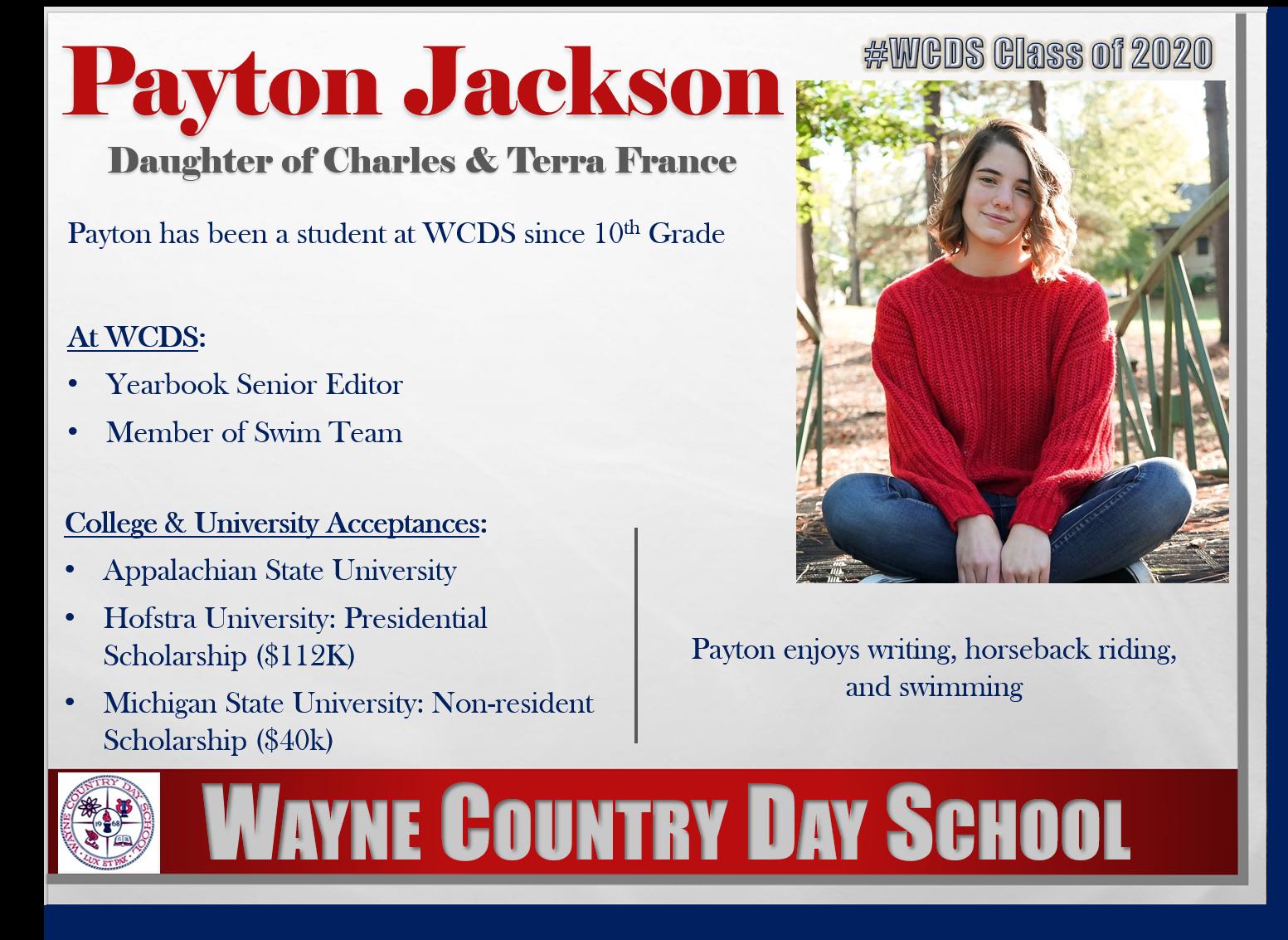 Payton Jackson