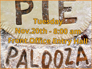 15th Annual Middle School Pie Palooza