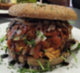 The Wolff´s Diner - Pulled Chicken Toskana Burger