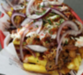 The Wolff´s Diner - Pulled Pork Fries