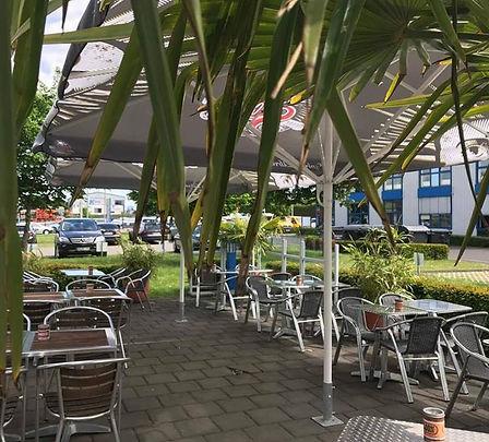 The Wolff´s Diner - Unsere Terrasse