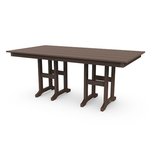 "Lakeside 37"" x 72"" Farmhouse Dining Table"