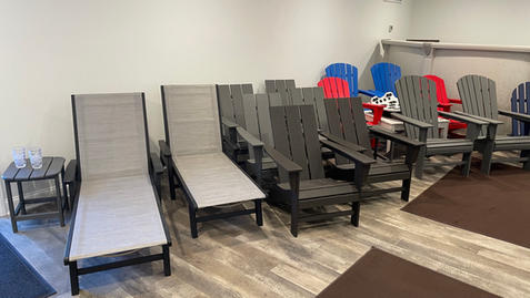 Chaise Lounges and Adirondack Chairs