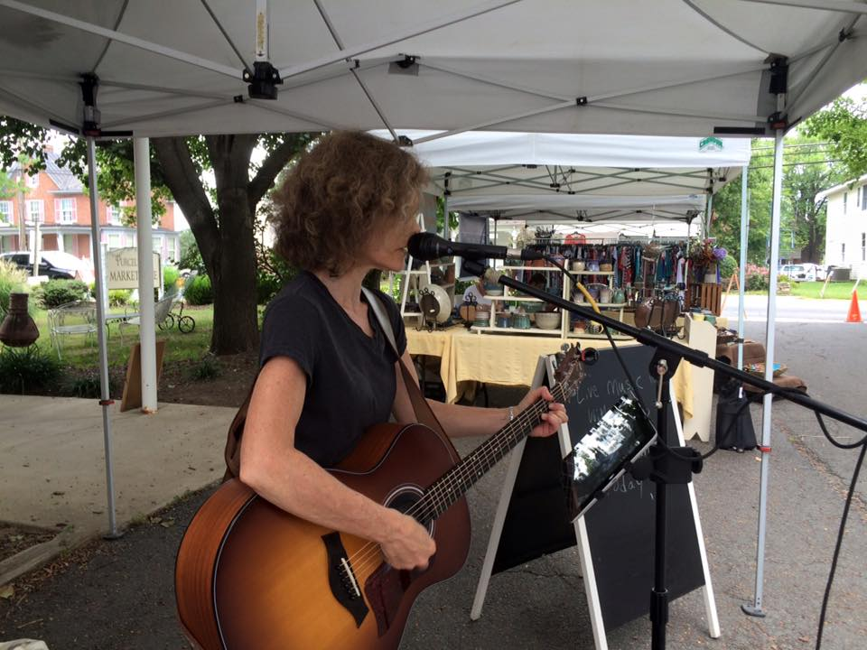 Laurie at Farmers Market