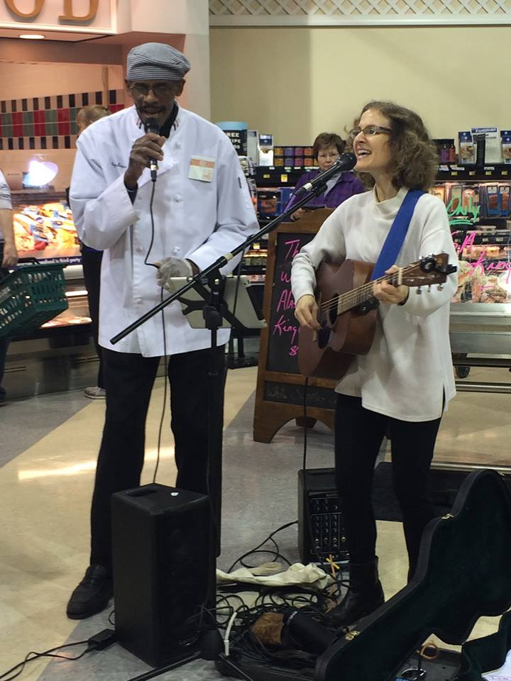 Roy and Laurie at Harris Teeter