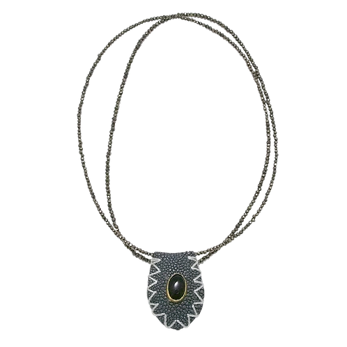 Grey stingray-Pyrite
