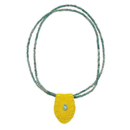 Galuchat citron-Chrysocolles