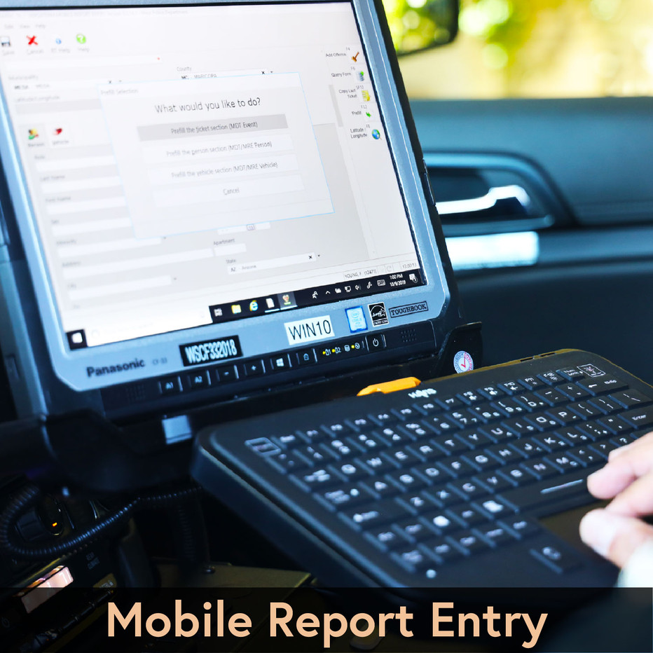 Mobile Report Entry