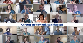 Our support teams make the difference!
