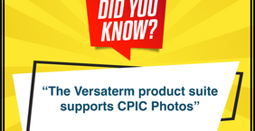 The Versaterm product suite supports CPIC photos...