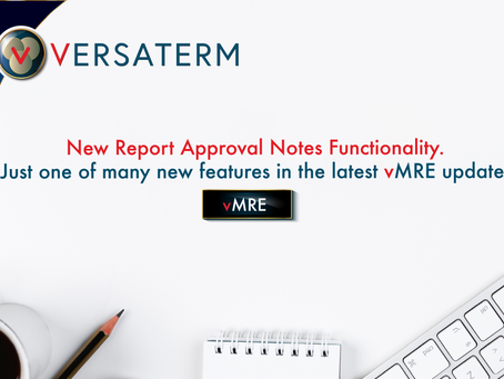 Report Approval Notes