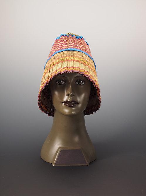 Chapeau multicolore