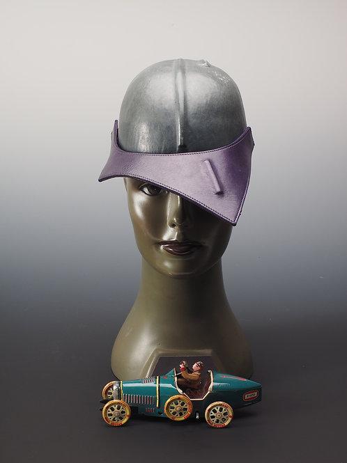 Casquette cuir Francine Millo