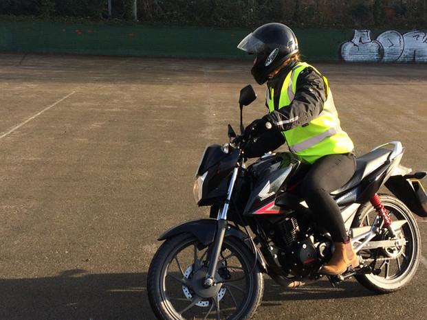CBT Motorbike training Beverley and Hull