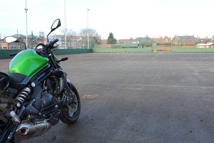 DAS Mod 1 Motorbike Training Ground