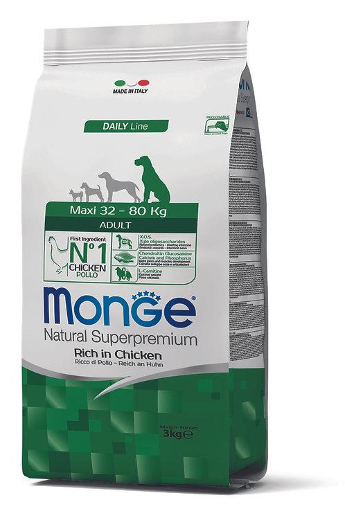 Monge Superpremium Dog Daily Line Maxi Adult 3kg