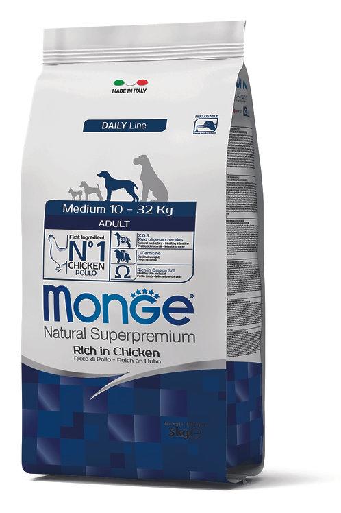 Monge Superpremium Dog Daily Line Medium Adult 3kg