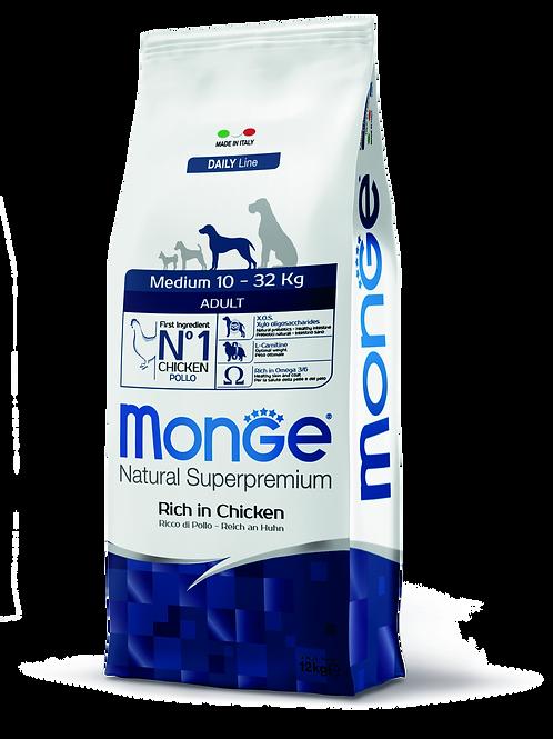 Monge Superpremium Dog Daily Line Medium Adult 12kg
