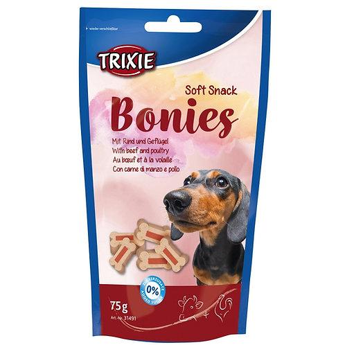 Bonies- Soft Treats Vaca e Peru 75gr