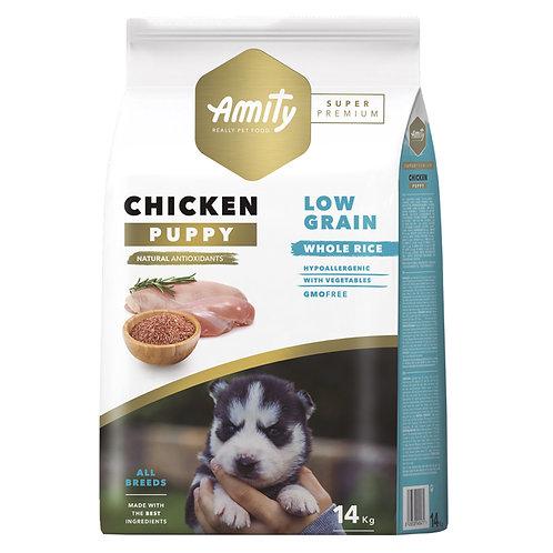 Amity Super Premium (Low Grain) Puppy Chicken 14kg