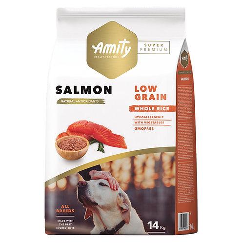 Amity Super Premium (Low Grain) Adult Salmon 14kg
