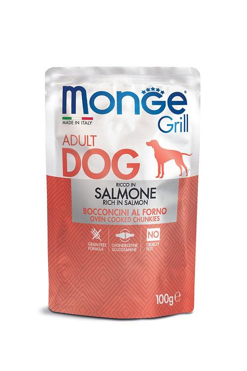 Monge Dog Daily Grill (Húmidos) Salmão 100gr