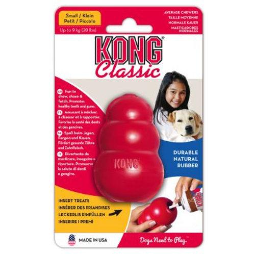Kong Classic- Brinquedo recheável para cães Tam M