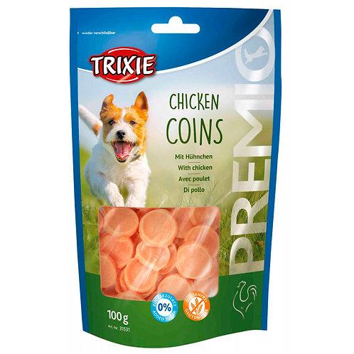 Chicken Coins Light 100gr treats