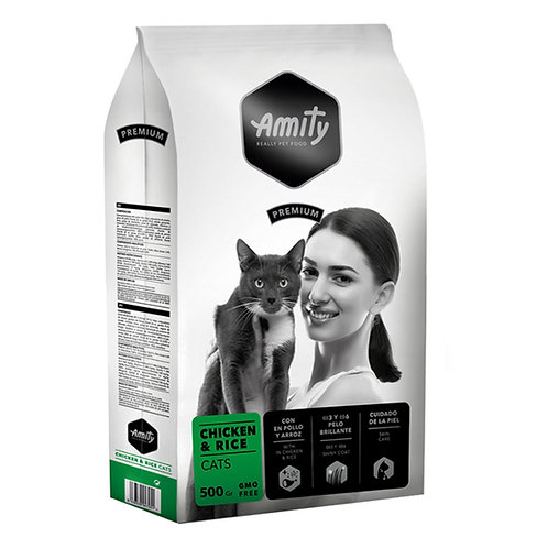 Amity Premium Chicken and Rice  Cats 500gr