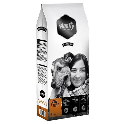 Amity Premium Lamb and Rice 15kg