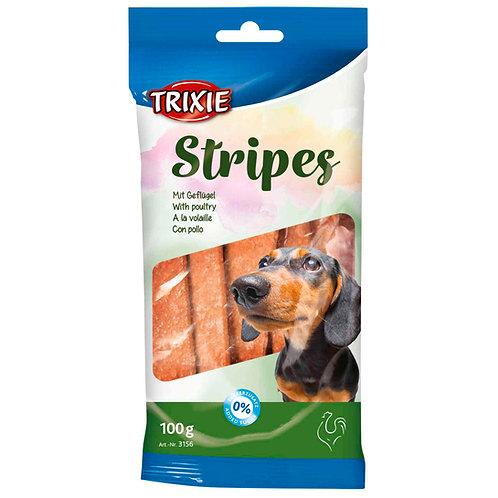 Treats Stripes- Tiras Frango 100 gr (10 unid)