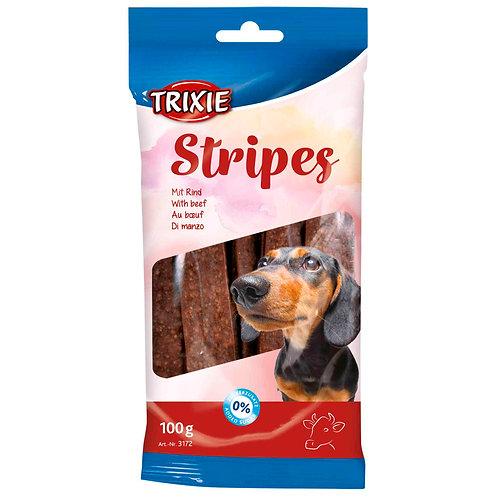 Treats Stripes- Tiras Vaca 100 gr (10 unid)