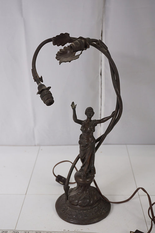 Art Deco Figural Table Lamp