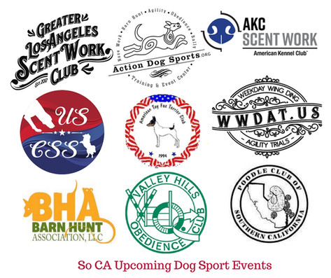 So CA Upcoming Dog events