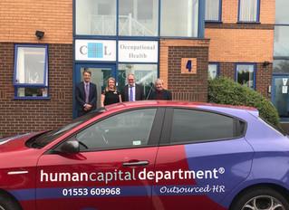 Partnership with Human Capital Department