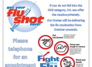 Get your Flu Shots!