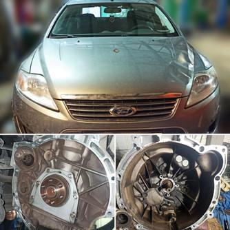 Замена сцепления.  Ford Mondeo