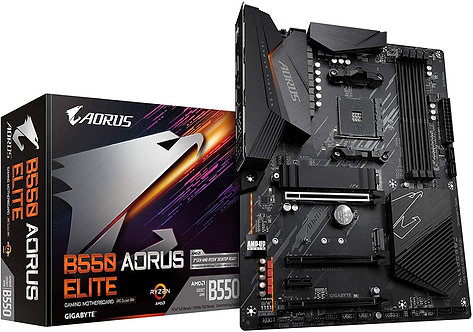 Gigabyte B550 AORUS ELITE AM4 ATX Gaming Motherboard