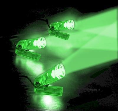Flexiglow PC Lazer Beam LED Kit (Green)